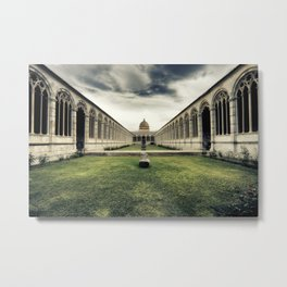 Monumental Cemetery of Pisa Metal Print