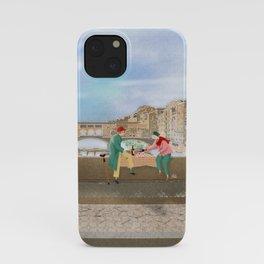 Breakfast on the Ponte Vecchio  iPhone Case