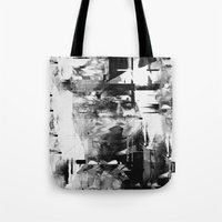 kurt vonnegut Tote Bags featuring Kurt by nicebleed