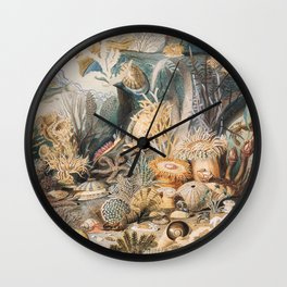 Ocean Life by James M. Sommerville Wall Clock