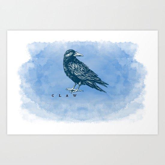 WordPlay 2: Ravenclaw Art Print