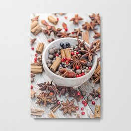 spices #society6 #decor #buyart Metal Print