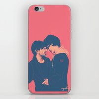 cyrilliart iPhone & iPod Skins featuring Larry #7 by Cyrilliart