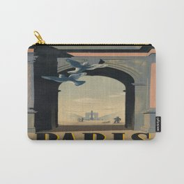 Vintage poster - Paris Carry-All Pouch