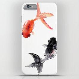 Two KOI , Feng Shui, Fish art, iPhone Case