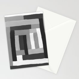 Painted Color Blocks Stationery Cards