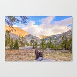 Little Yosemite Valley Canvas Print