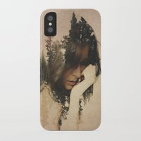 lost iPhone & iPod Cases featuring Lost In Thought by Davies Babies