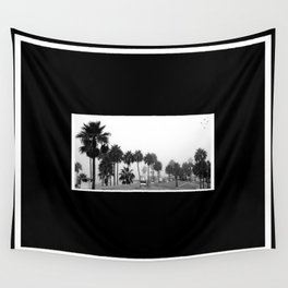 Palm Trees of Rosarito Wall Tapestry