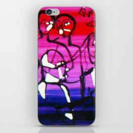 The Conference          by Kay Lipton iPhone Skin