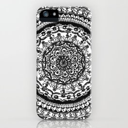 A detailed mandala iPhone Case