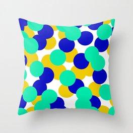 Colour Dots 05 Throw Pillow