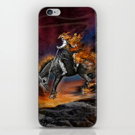 Texas Ghost Rider iPhone Skin