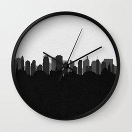 City Skylines: Minneapolis (Alternative) Wall Clock