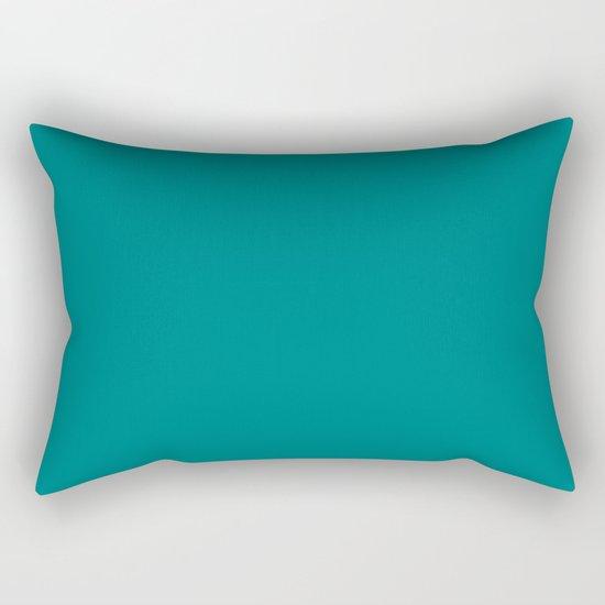 (Teal) Rectangular Pillow