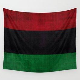 UNIA flag, Afro-American flag, Black Liberation flag Motif Wall Tapestry