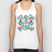 arab Tank Tops featuring Blossom by Heaven7