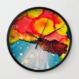 Daydreaming sunshine Wall Clock