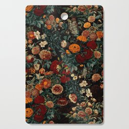 EXOTIC GARDEN - NIGHT XXI Cutting Board