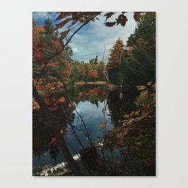 New York Fall Canvas Print