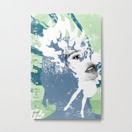 Blow Back - 1 Metal Print