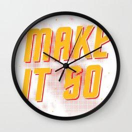 Make it so Star Wall Clock