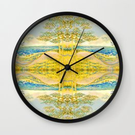 Sacred Reflection Wall Clock