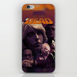 Struzan-Style Dawn of the Dead poster iPhone Skin