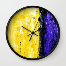 Color Combo #4 Wall Clock