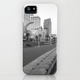 San Francisco Downtown- BW iPhone Case