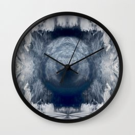 Cloud meditation Wall Clock