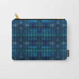 Patterns II Blue Carry-All Pouch