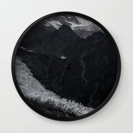 Mont Blanc collection   Glacier Wall Clock