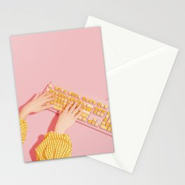 Mac and Cheese Stationery Cards