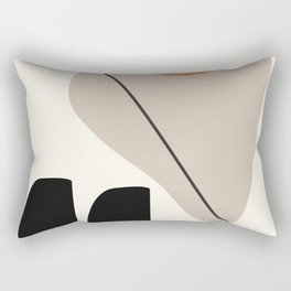 Abstract Shapes 61 Rectangular Pillow