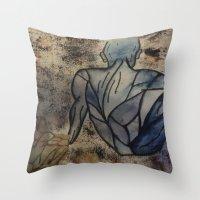 anatomy Throw Pillows featuring Anatomy  by Crimson-daisies