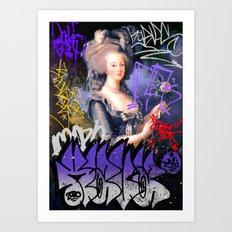 Marie Antoinette Art Print