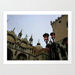 San Marco (Venice, Italy) Art Print