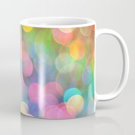 Rainbow Bokeh I Coffee Mug