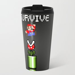 Mario survive Travel Mug