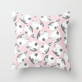 Sleepy Kitties Throw Pillow