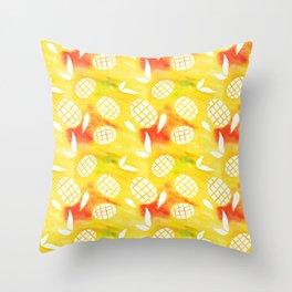 Mango Mania Throw Pillow