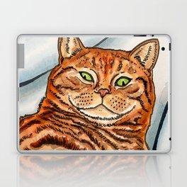Ginger Cat Laptop & iPad Skin