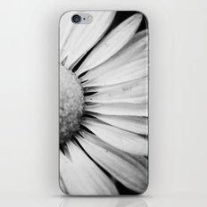 Black and White Flower Macro photography monochromatic photo iPhone & iPod Skin
