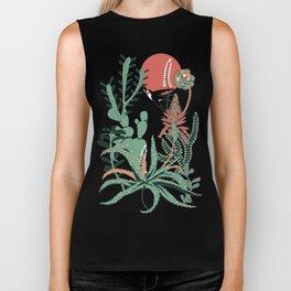 Succulents Jungle Biker Tank