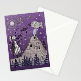 When the Little Prince came to Iceland Stationery Cards