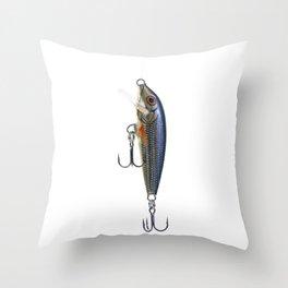 Fishing Tackle 25 Throw Pillow
