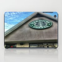 starbucks iPad Cases featuring Starbucks by Chelsea Gibson