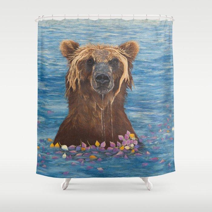 Elsa: Washing My Worries Away Shower Curtain