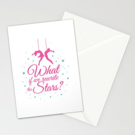Acrobatics What If We Rewrite The Stars? Stationery Cards